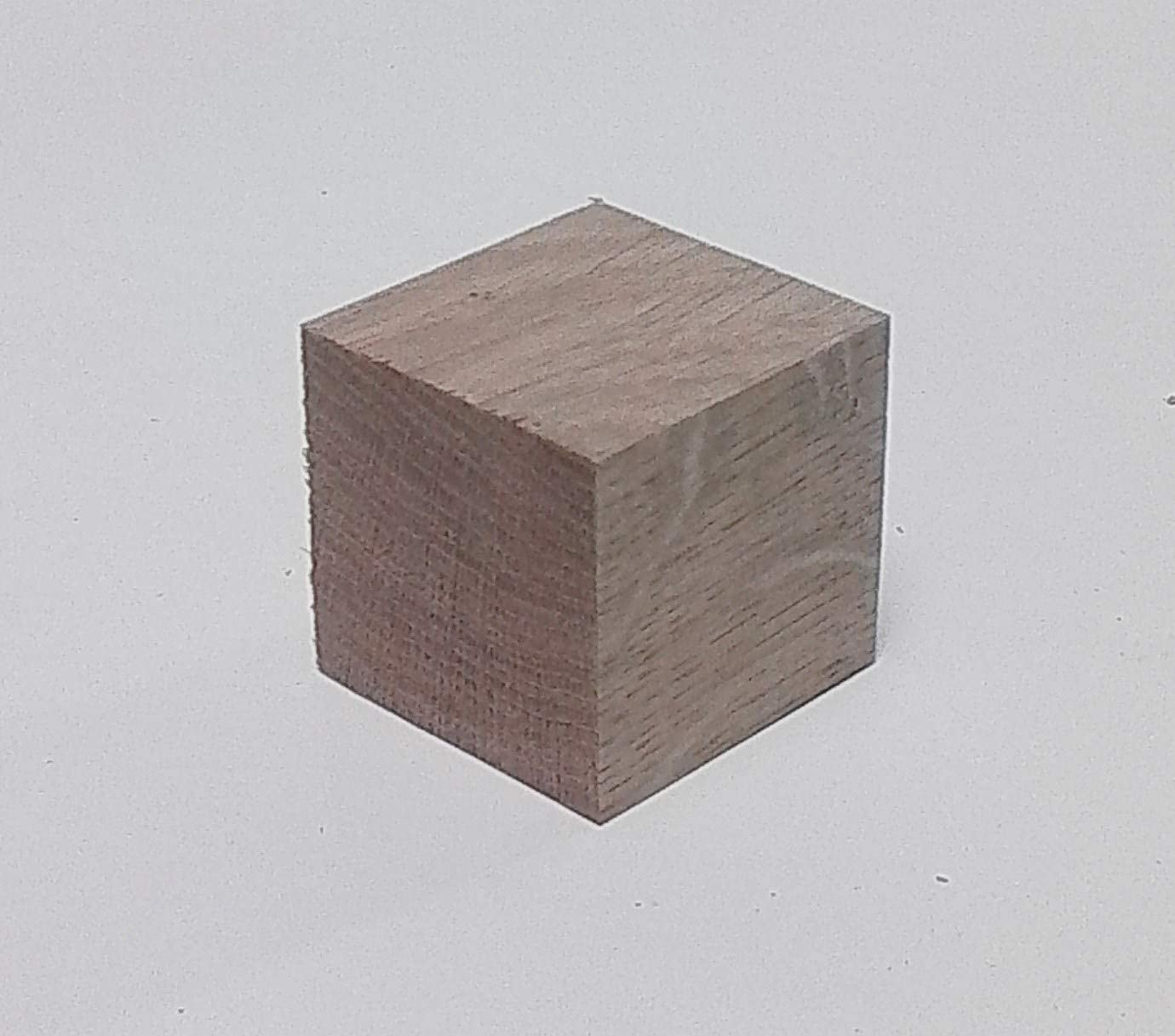 Sonderma/ße. 1 Holzw/ürfel Buche massiv 60x60x60mm Kantholz Drechselholz