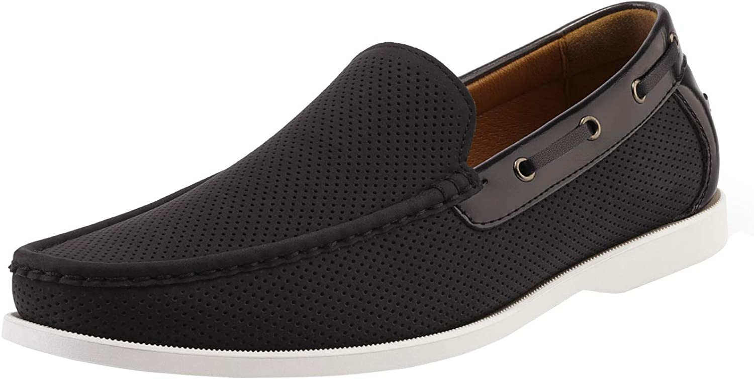 Bruno Marc Men's Boat Shoes Deck Driving Penny Loafers