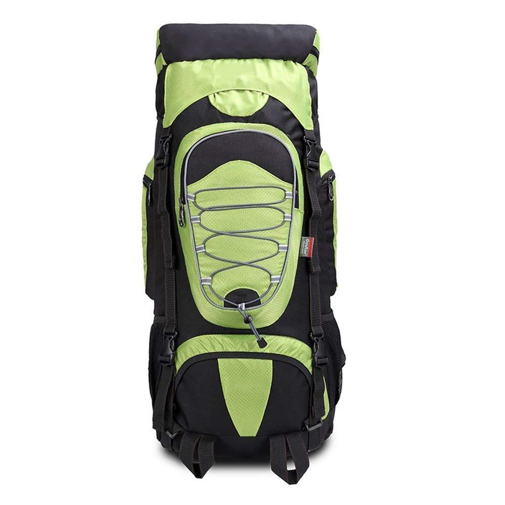 Baobei アウトドア 多機能バックパック 大容量 トラベルバッグ オックスフォード生地 防水 スポーツとレジャーバッグ マルチカラー  グリーン B07G8FTDX1