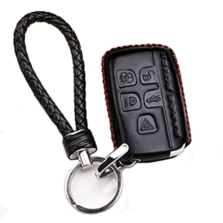 Genuine Leather Car Remote Key Fob Case Holder Cover Shell