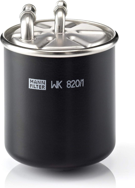 Original MANN-FILTER Filtro de Combustible WK 820/1 – Para Camiones