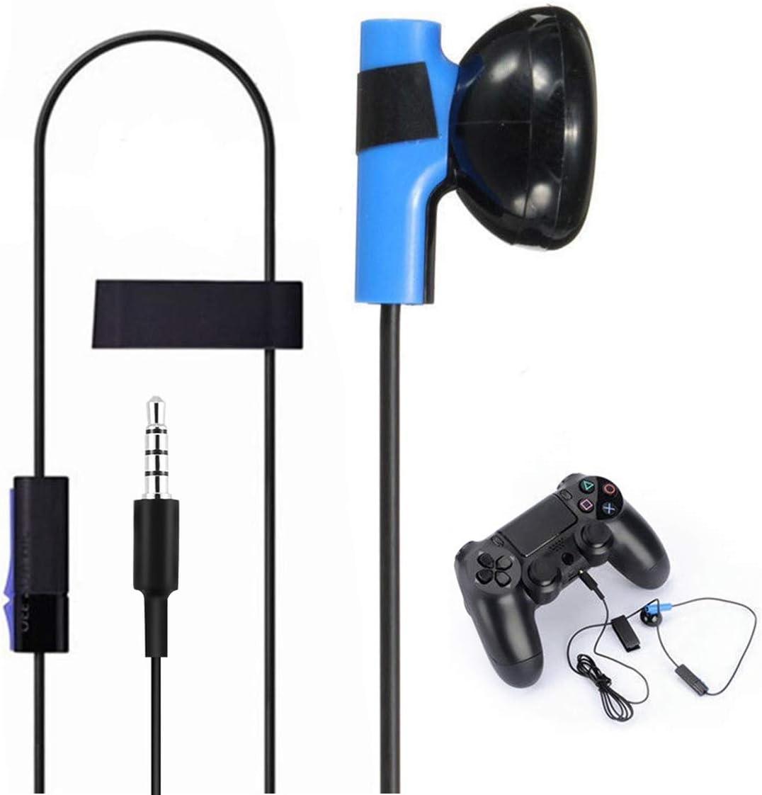 Nosii Gaming Headset Auricular Auricular con micrófono para Sony Playstation 4 PS4 Controller: Amazon.es: Hogar