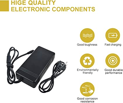 TOP 200W 19V 10.5A AC Adapter Power for Gaming Laptops 5.5 mm x 2.5 mm Plug Tip PSU