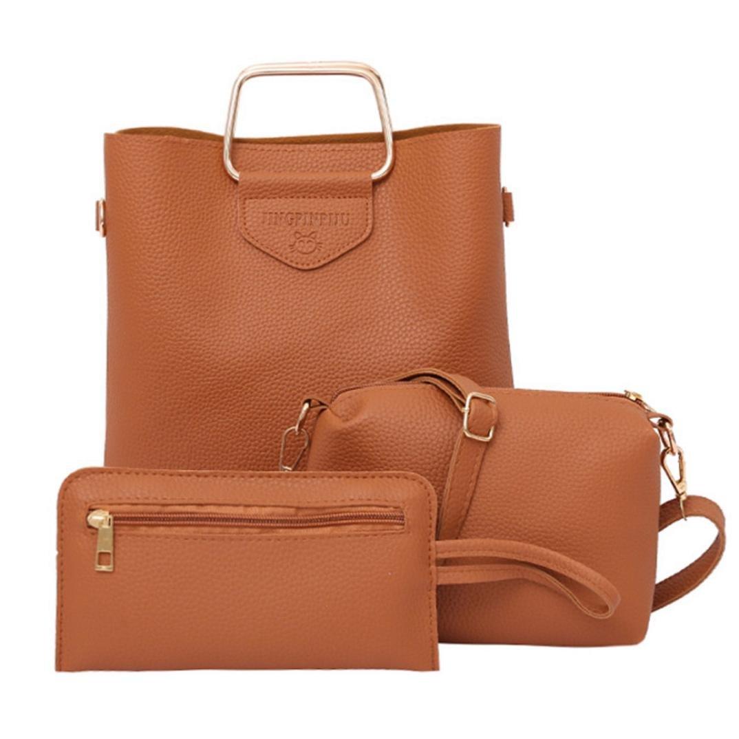db03445f91c3 durable modeling Rakkiss Women Handbag Shoulder Bags Fashion Three ...