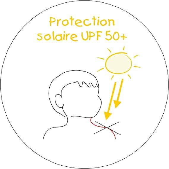 Rana Rosa Piwapee Top beb/é Nadador Lycra Anti UV protecci/ón UPF50