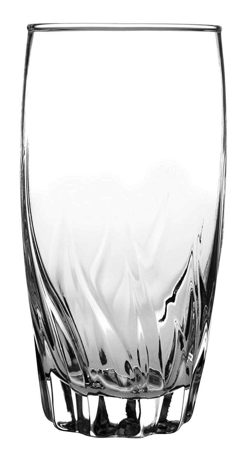 Anchor Hocking Central Park Drinking Glasses, 16 oz (Set of 12) (2-Units)