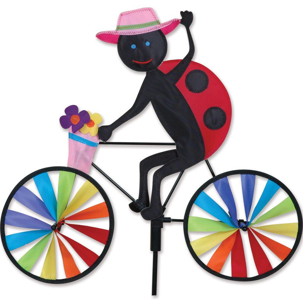 Premier Kites 20 in. Bike Spinner - Ladybug