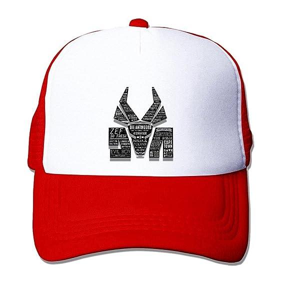 Mcczox Die Antwoord poster fashion Mesh Hat Black