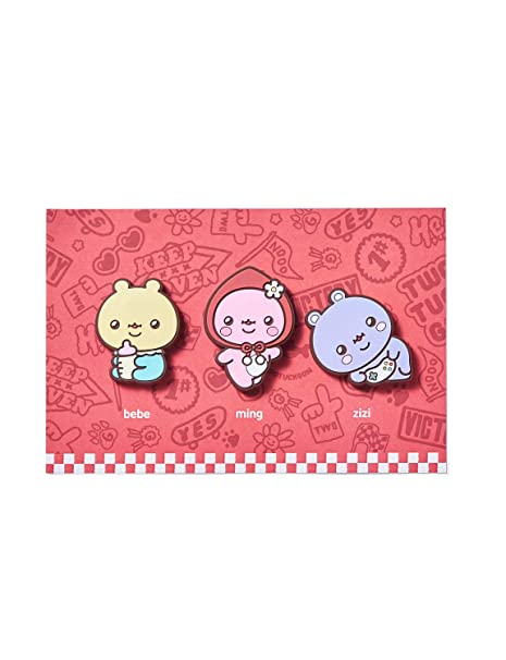99cccb4881fe Amazon.com: TWOTUCKGOM Collaboration with Monsta X 3 Sets of Magnet ...
