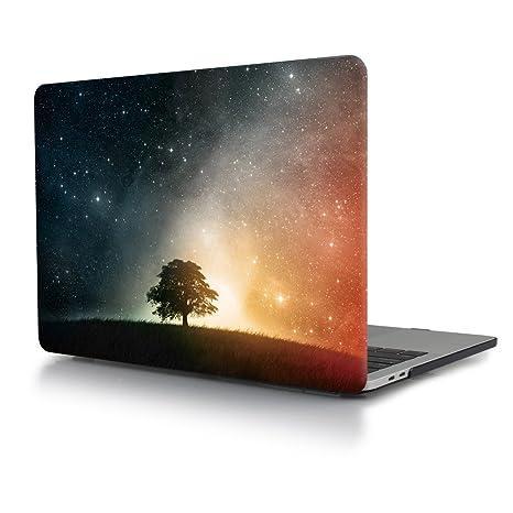 Carcasa MacBook Pro 13 2016 2017,TwoL Funda dura para MacBook Pro 13 con/