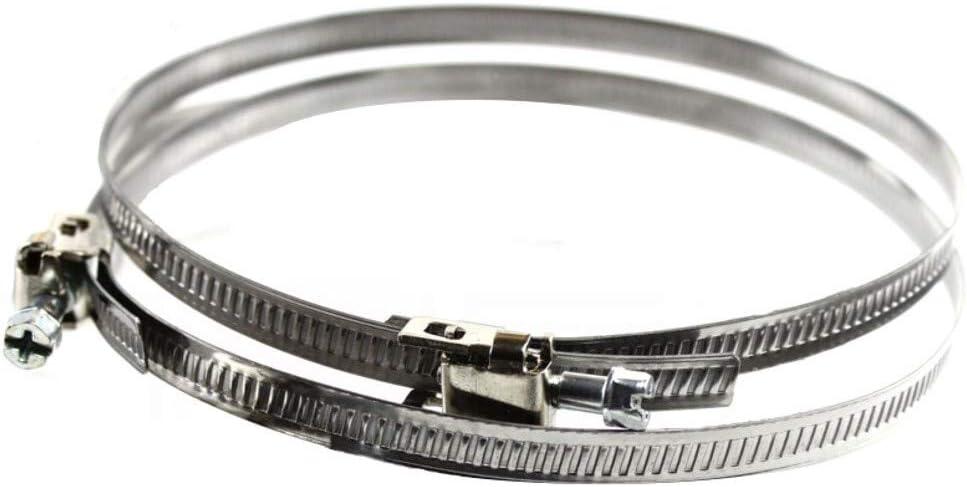 MKK/® Rohrschelle mit Dichtung /Ø 200 mm Rohrschelle Schlauchschelle Schelle Wickelfalzrohr Alu-Flex-Rohr Flexschlauch