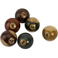 IMAX Antique Pool Balls, Set of 6