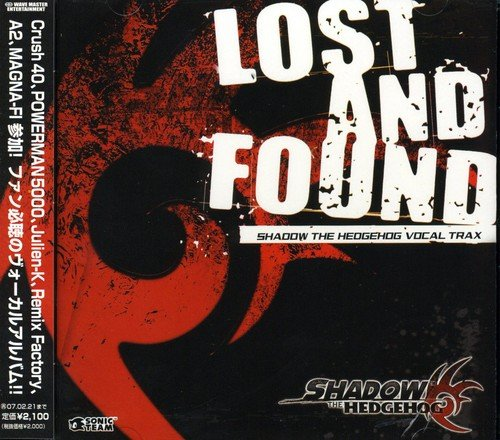 Price comparison product image Lost and Found: Shadow the Hedgehog Vocal Trax