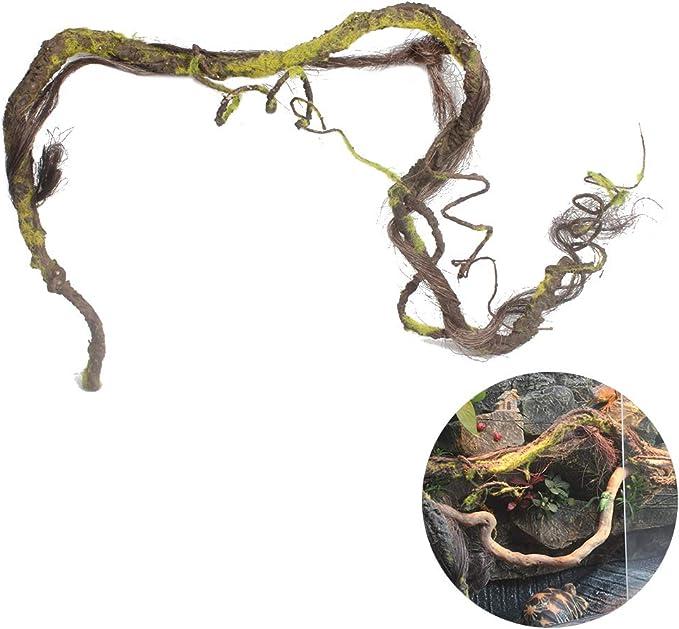 POPETPOP Selva de Escalada Artificial para Reptiles, Vides de ...