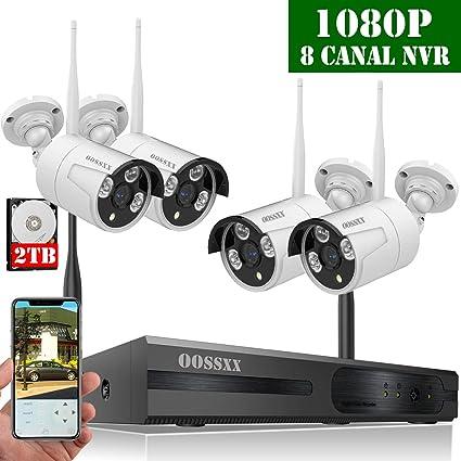 2019 Nuevo】Sistema de Cámara de Seguridad, 1080P NVR ...