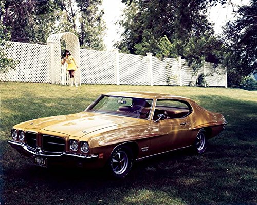 1971 Pontiac Gt 37 Automobile Photo Poster