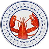 Enamelware - Lobster Pattern - 12½ Inch Charger Plate
