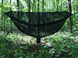 "KING OUTFITTERS JUNGLER 11'6"" BUG NET. LARGEST Hammock Bug Net for Diagonal Lay. SECURITY from Bugs and Mosquitoes [Jungle Survival Gear]"