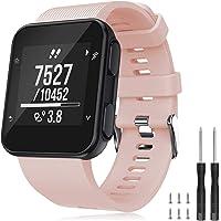 TOPsic Armband voor Garmin Forerunner 35 armband, horlogeband, reservearmband siliconen accessoires armbanden voor…