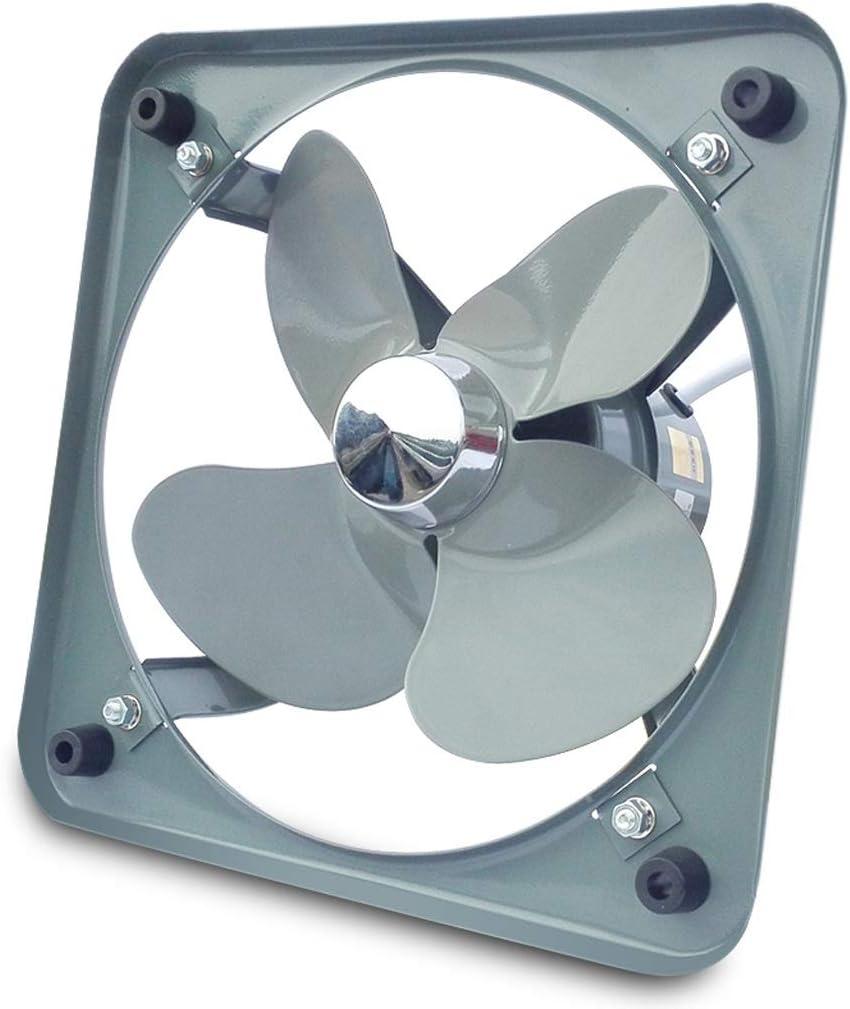 Ventiladores de extracción domésticos Extractor de bajo Ruido Ventilador Ventilador Ventilador Tipo Ventana Ventilador, for Cocina e Industria (Size : 14 Inches)