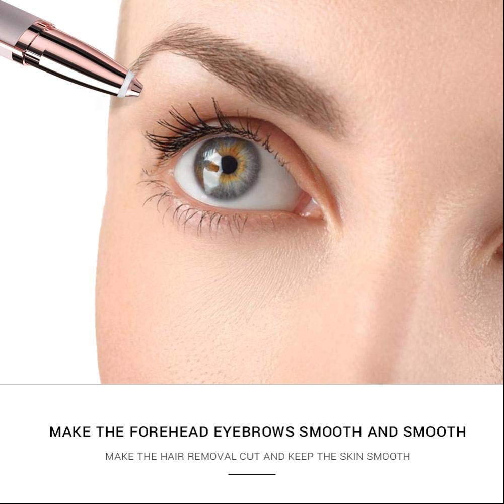 Flawlessly Brow Hair Remover - Brows Best Eyebrow Trimmer Women Painless Hair Remover, Flawlessly Eyebrow Remover As Seen On TV by Life In Color (Image #4)