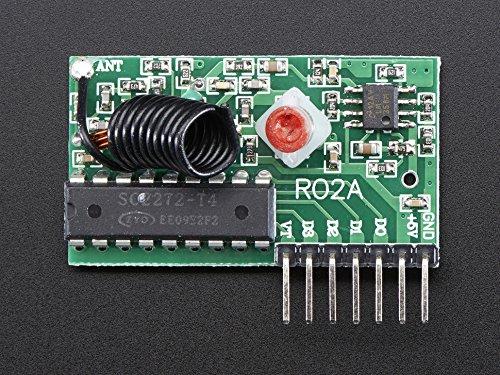 Adafruit RF Development Tools RF T4 Receiver Toggle Type (1