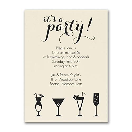 Amazon Com 250pk It S A Cocktail Party Party Invitation