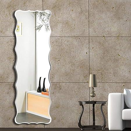 Specchio da Terra- Specchio Ondulato Senza Cornice Specchio ...