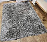 Cheap Glitter Shag Shaggy Furry Fluffy Fuzzy Sparkle Soft Modern Contemporary Thick Plush Soft Pile Khaki Copper Two Tone Area Rug Carpet Bedroom Living Room 8×10 Sale Discount ( Treasure Khaki )