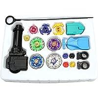 Generic 4D Launcher Grip Beyblade Set, Multi Color