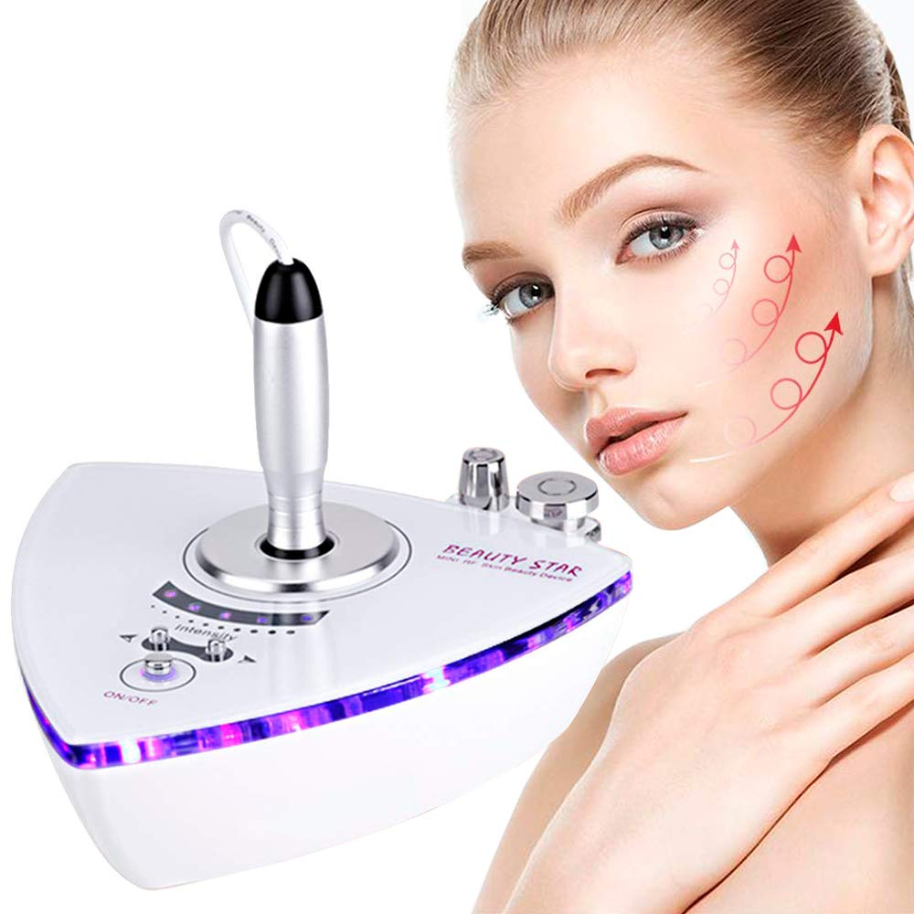 RF Radio Frequency Facial Machine, Beauty Star Home Use Portable Facial Machine for Skin Care by Beauty Star
