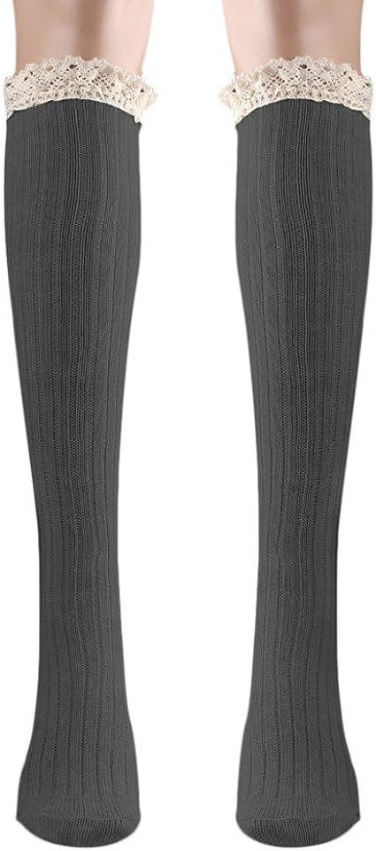 Brave Fox Womens Knee High Socks Winter Warm Boot Socks Tube Stockings