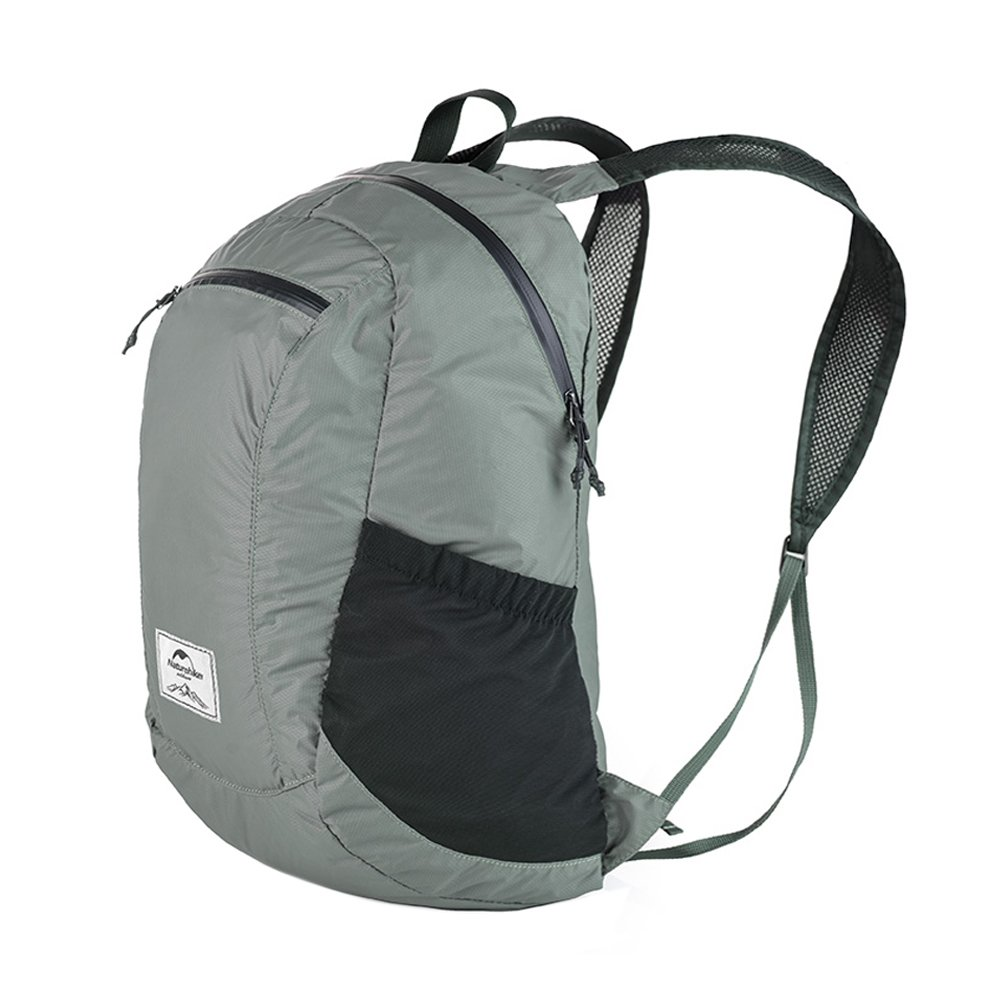 Unisex 18L Ultra Lightweight Foldable Backpack Waterproof Backpack Packable Casual Daypack for Travel Hiking Sports Cycling(Gray) by 店名 (Image #4)