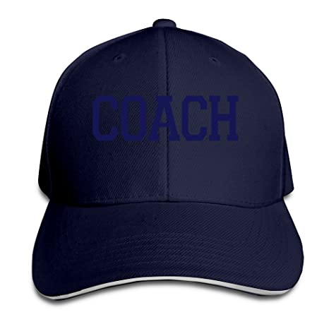 Hittings Coach Unisex 100% Cotton Adjustable Gorra de béisbol ...