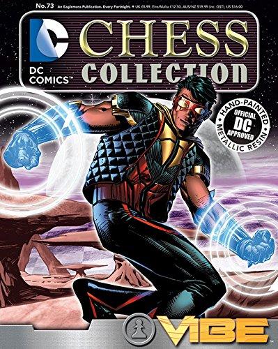 DC SUPERHERO CHESS FIGURINE COLLECTION MAGAZINE #73 VIBE WHITE PAWN