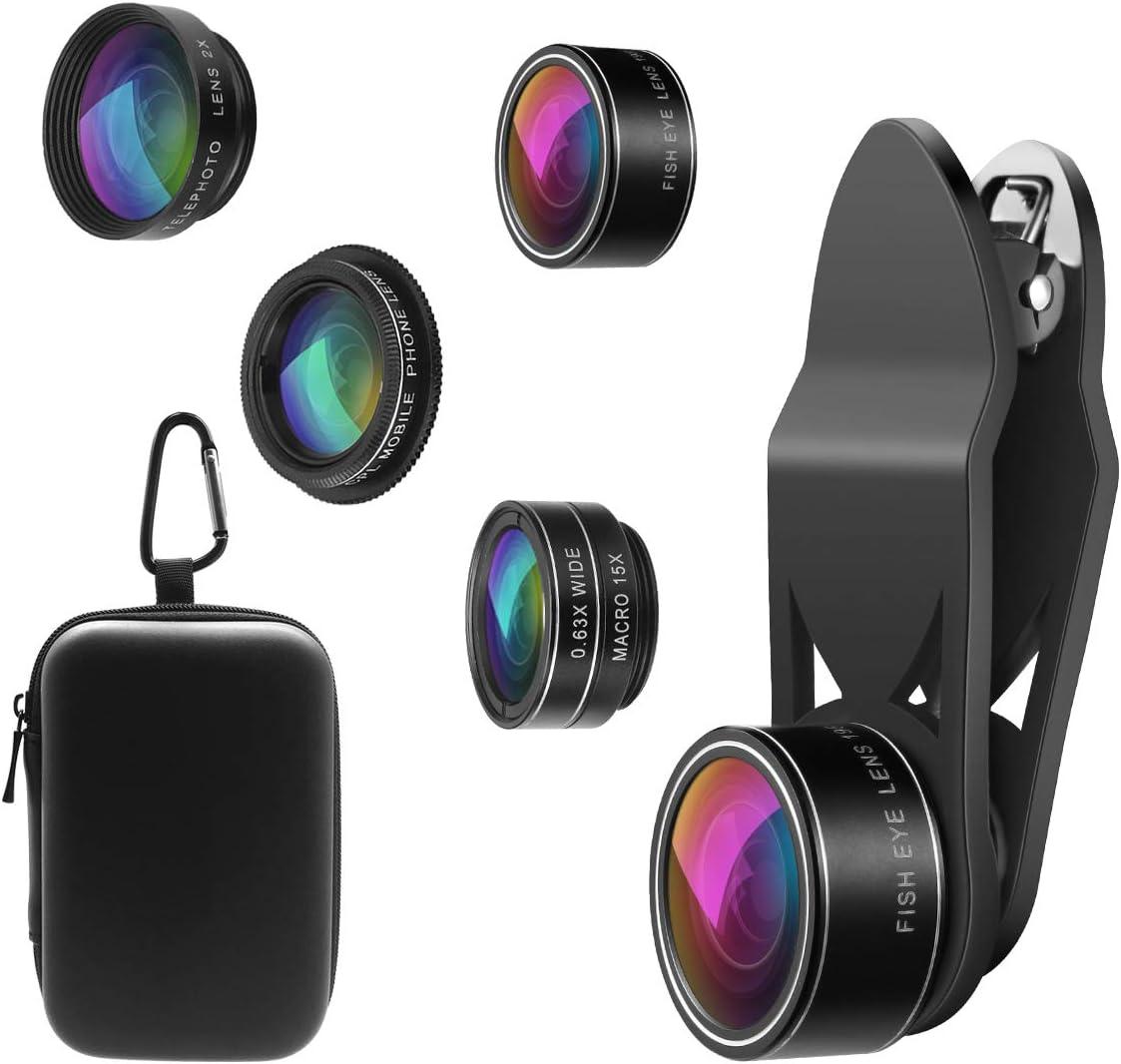 ORIA 5 in 1 Clip-On Handy Objektiv Kit, Professionel: Amazon.de: Elektronik