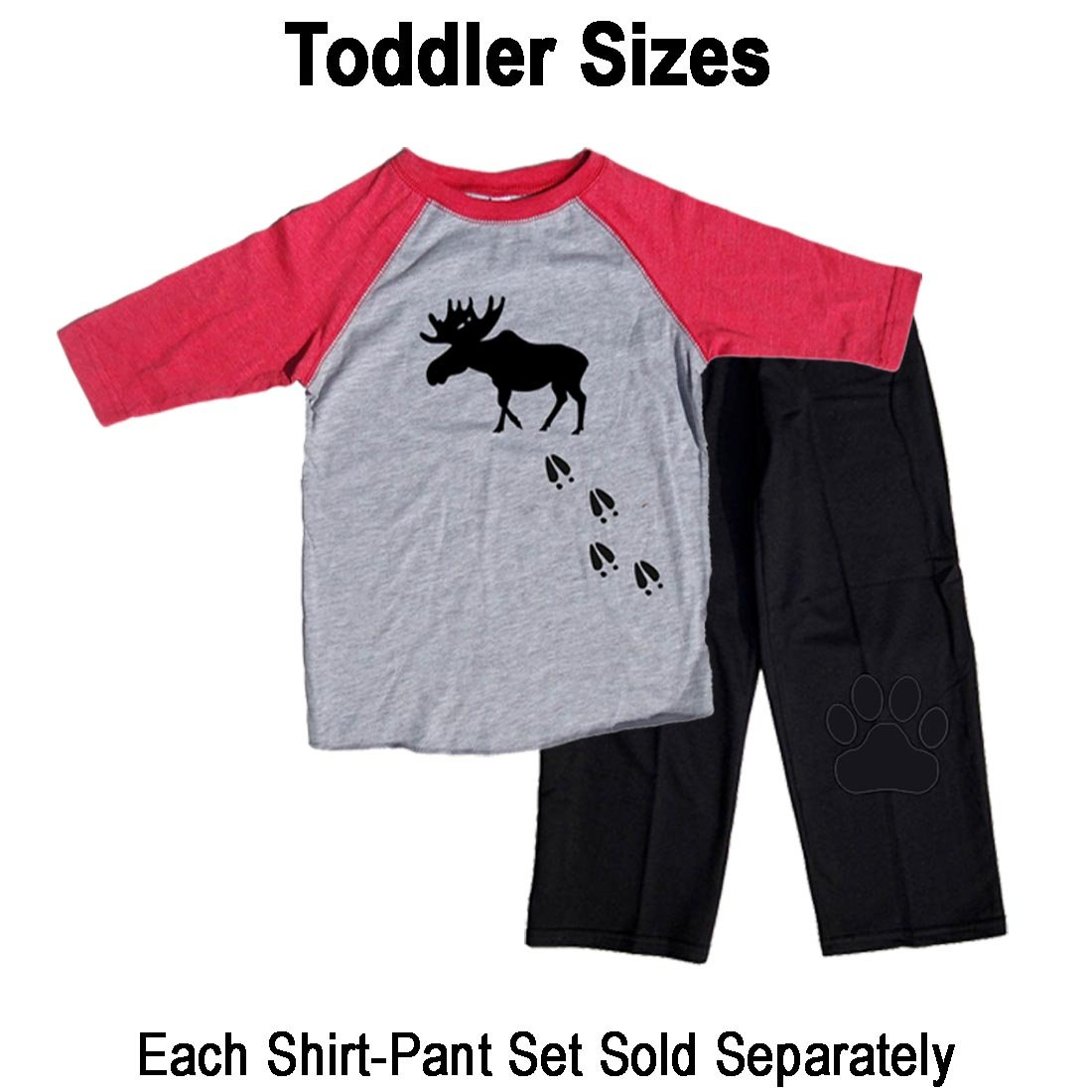Amazon.com  Footsteps Clothing Moose Tracks Matching Family Adult Pajama  Sets and Playwear For Kids  Clothing 271f3d061
