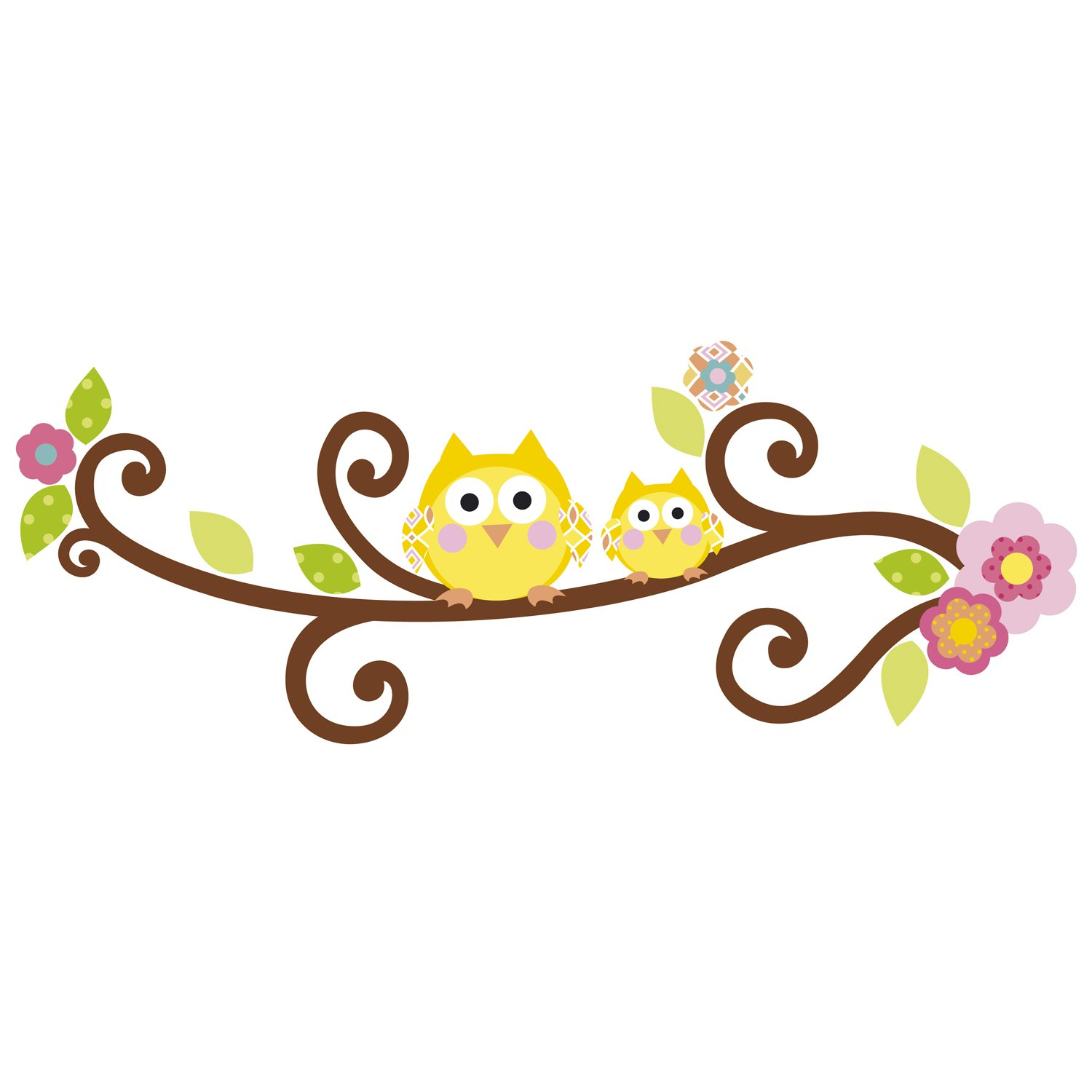 Amazon.com: RoomMates RMK2079GM Scroll Tree Letter Branch Peel And Stick  Giant Wall Decal: Home Improvement Part 96