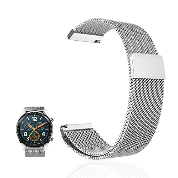 Amazon.com: for Huawei Watch 2 Pro Band, FRGNIE Milanese ...