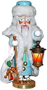 1997 Signed Karla Steinbach Wooden 4th in Christmas LegendsGrandfather Frost Nutcracker, RETIRED