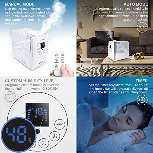 Levoit Cool / Warm Mist Humidifier