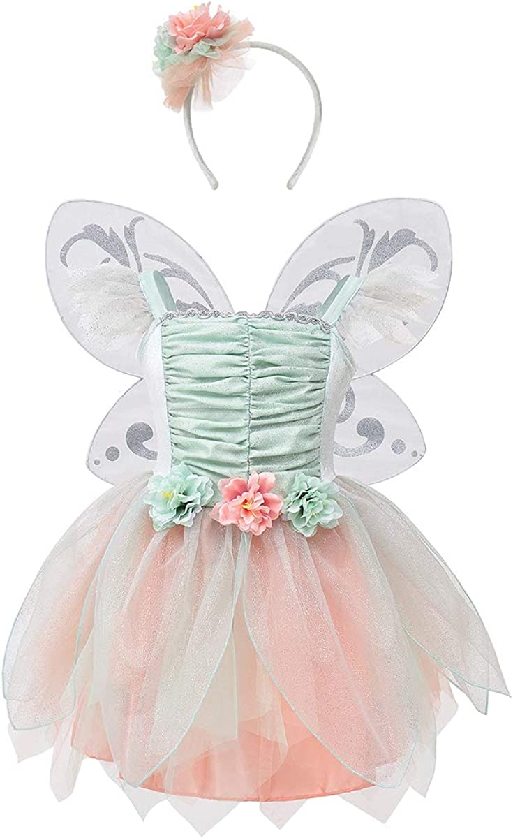 ROSEBUD FAIRY CHILDRENS COSTUME BY TRAVIS DRESS UP BY DESIGN