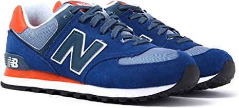 New Balance 574 Royal Blue \u0026 Orange