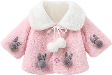 Sweet Cute Princess Baby Fluffy Cloak Coat Baby Girl Warm Coat Cloak Jacket