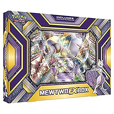 Pokémon TCG: Mewtwo-EX Box Card Game from R&M