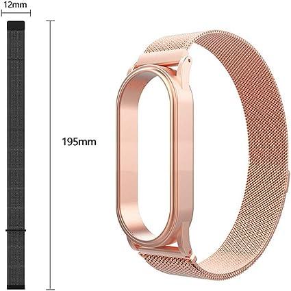 Amazon.com: Wristband Replacement for Xiaomi Mi Band 4 Milan ...