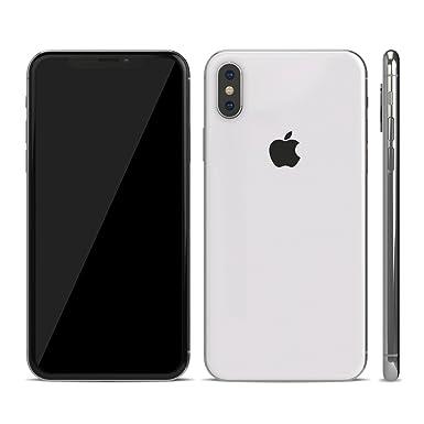 buy online 7a23d d3a68 iPhone X 10 Textured Skin Sticker (iPhone X Skin, Clear Matt)