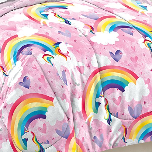 Which are the best dream factory unicorn rainbow comforter set available in 2020?
