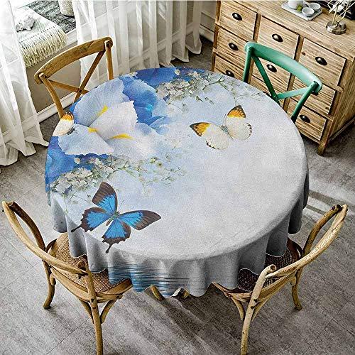 - Rank-T Round Tablecloth Square Vinyl 40