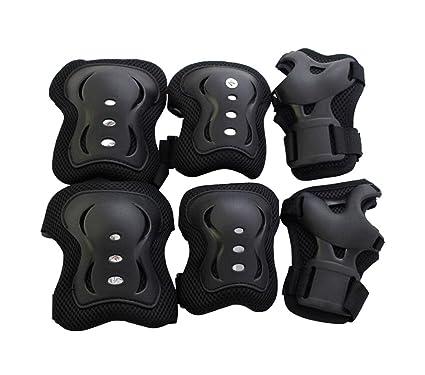 1 Juego (6 unidades) de 3 en 1 Niños rodilla codo muñeca guardia protección de seguridad Pads para ciclismo Roller Skating Patines ...